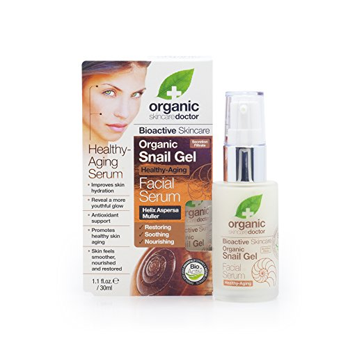Organic Doctor Snail Gel, Facial Serum, 1.1 Fluid Ounce (...