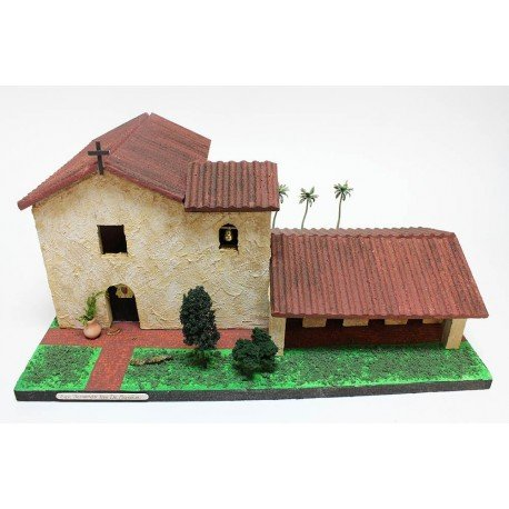 California Mission Model Kit San Fernando Rey De Espana (Mission Of San Fernando Rey De Espana)