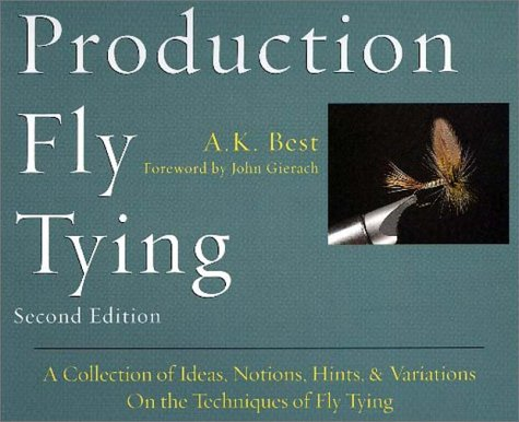 Production Fly Tying (The Pruett Series) - Fly Tying Series
