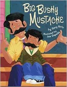 Big bushy mustache by gary soto