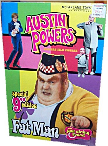 Austin Powers Fat Man Doll 9inches