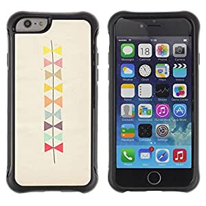 Fuerte Suave TPU GEL Caso Carcasa de Protección Funda para Apple Iphone 6 PLUS 5.5 / Business Style Bowtie Pattern Beige Art