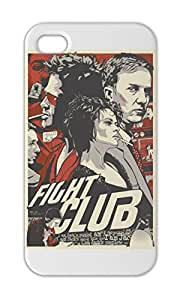 Fight Club Alternative Poster Iphone 5-5s plastic case