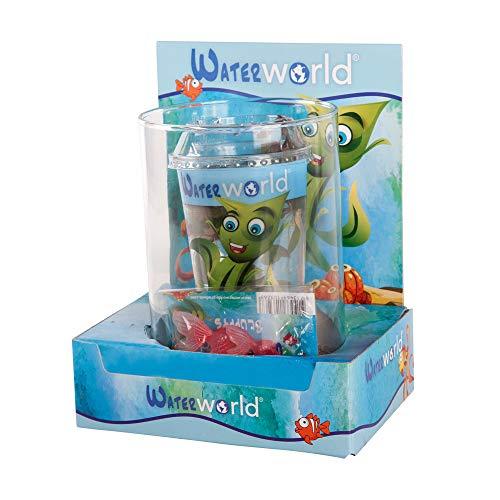 BOTANICLY   Waterworld fuente de agua pequeña con la planta ...