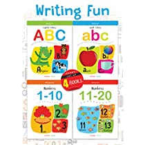 Writing Fun A Set Of 4 Books Write And Practice Capital Le