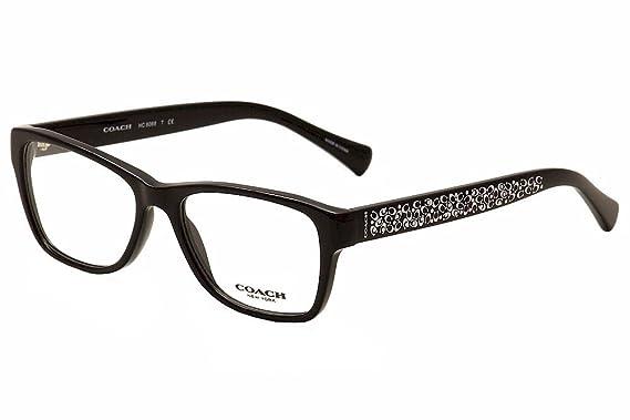 b281a0588299 Eyeglasses Coach HC 6068 5002 BLACK at Amazon Women s Clothing store