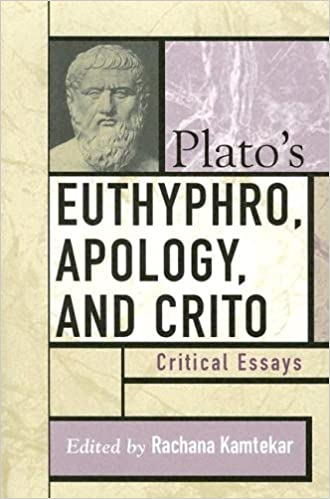com plato s euthyphro apology and crito critical essays  com plato s euthyphro apology and crito critical essays critical essays on the classics series 9780742533257 rachana kamtekar