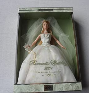 Amazon Com Romantic Wedding 2001 Bridal Collection Barbie