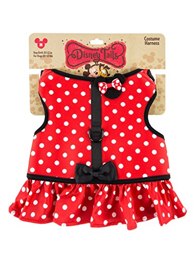 Disney Parks Minnie Mouse Costume Dog Harness Medium