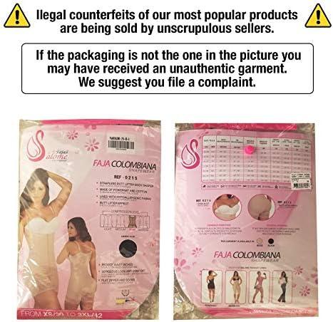 Salome 0215 Fajas Colombianas Reductoras y Moldeadoras Postparto Strapless Postpartum Shapewear