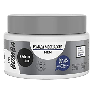 Linha Tratamento (SOS Bomba de Vitaminas) Salon Line - Pomada Modeladora Homem Explosao de