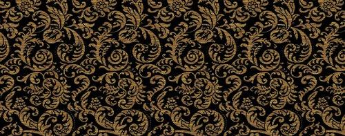 Kane Carpet - Damask II Collection - Balmoral Black - Oval -