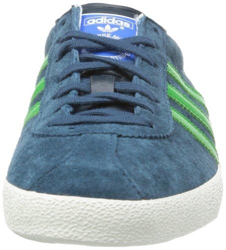 adidas Originals Gazelle OG G96696 Herren Sneaker Mehrfarbig (Dark Petrol So5/Real Green S11/Metallic Gold)