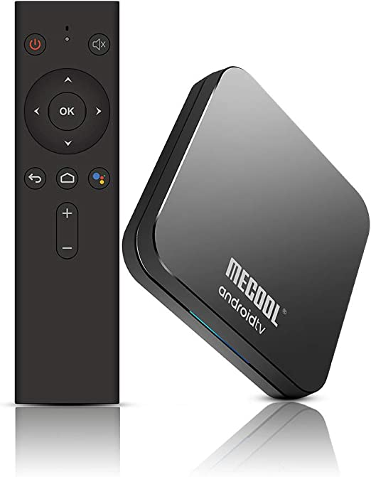 Docooler MECOOL KM9 Pro Smart TV Box Android 9.0 Reproductor Multimedia Amlogic S905X2 4GB + 32GB Dual WiFi BT 4.0 Control Remoto de Voz Miracast Airplay: Amazon.es: Electrónica