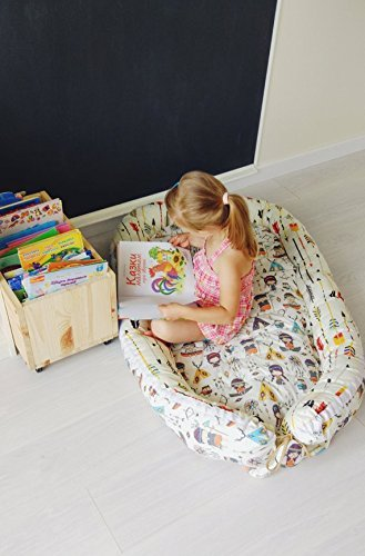 Baby nest, tribal nursery, arrows print, cosleeper, Babynest, toddler nest, baby shower gift, baby nest bed, boho nursery, baby lounger