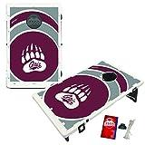 Montana Grizzlies Baggo Bean Bag Toss Cornhole Game Vortex Design