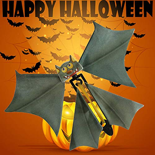 DKmagic Magic Flying Bat Flutter Card Prank Flying Paper Bats Funny Halloween Card Gift