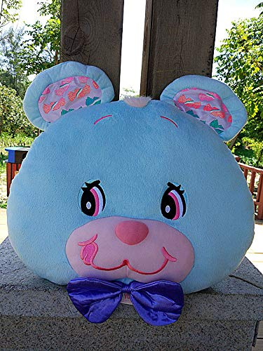 FidgetGear Jumpin Jellybean Bunny Cherry Bear Rabbit Plush Cushion Pillow Blue Bear from FidgetGear