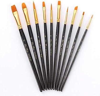 BJ-SHOP Set de Pinceles,Pincel de Pintura Cepillos de Pintura ...