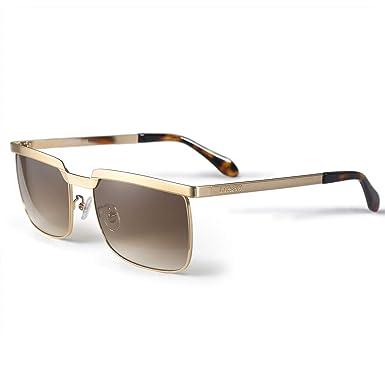 LORSEX Gafas de sol Hombre Moda retro Gafas de sol para ...