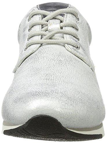 Gabor Shoes Fashion, Zapatillas para Mujer Blanco (ice/silber 61)