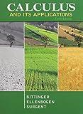 Calculus and Its Applications and Student Solutions Manual, Bittinger, Marvin L. and Ellenbogen, David J., 0321791126