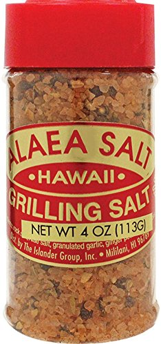 Hawaiian Alaea Red Grilling Salt & Spices 4 oz.