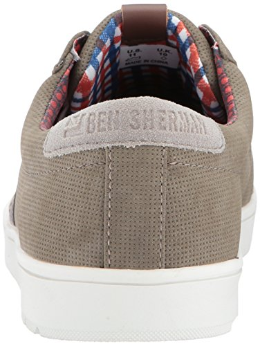 Ben Sherman Heren Ashton Fashion Sneaker Grijs