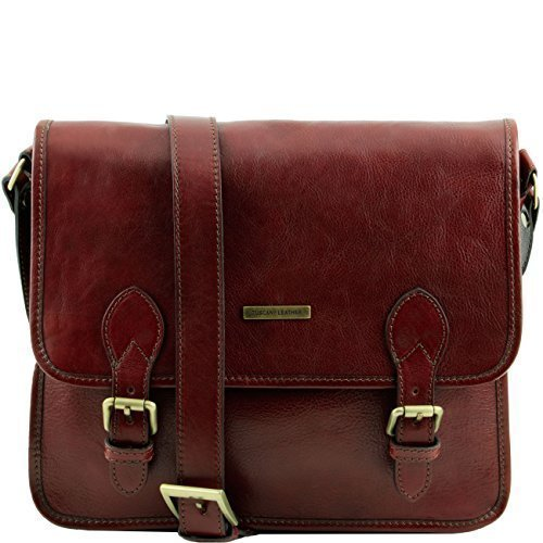 Tuscany Leather TL Postman Leather messenger bag Brown by Tuscany Leather