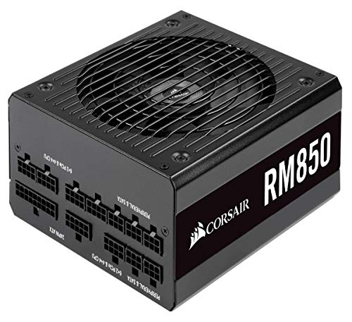 CORSAIR RM Series, RM850, 850 Watt, 80+ Gold Certified, Fully Modular Power Supply, Microsoft Modern Standby from Corsair