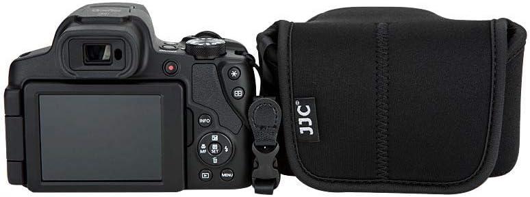EF-M 15-45mm Kit Lens and More XF 18-55mm//XF 16mm f1.4//XF 23mm f1.4//XF 50mm f2 Lens,Canon EOS M50 M6 MarK II M5 M6 JJC Neoprene Camera Case Pouch for Fuji Fujifilm X-T30 X-T20 X-T10 X-T100