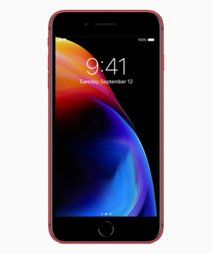 Apple iPhone 8, 256GB, Red - for AT&T/T-Mobile (Renewed)