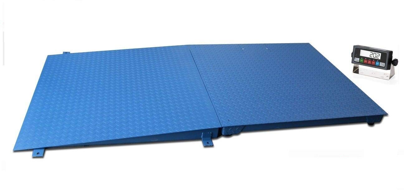 Selleton Ntep 5 X 4 Floor Scale with Ramp 2,500 Lbs X 0.5 Lb//Pallet Size 60 X 48