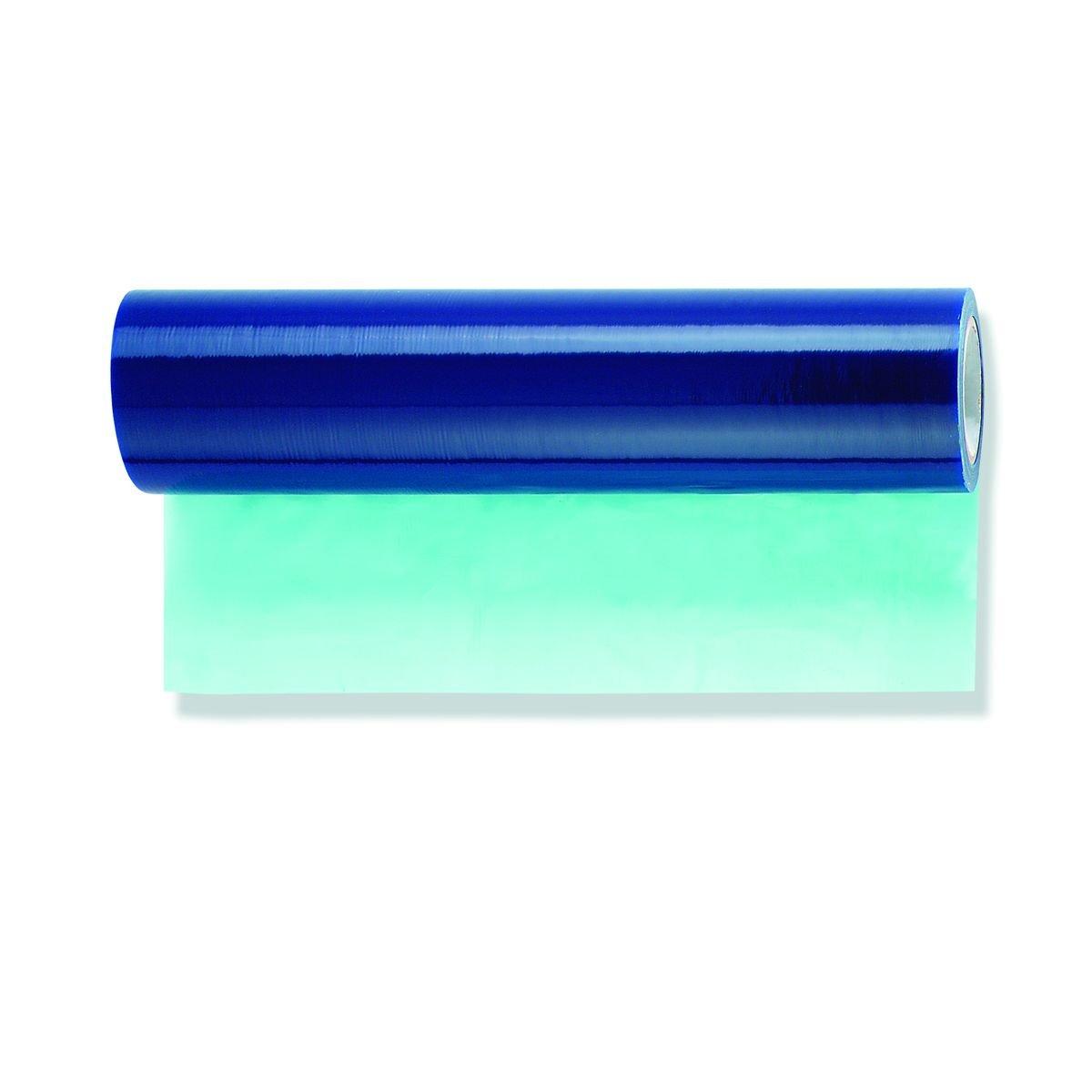 4x Glasschutzfolie blau selbsthaftend 100cm x 100m Fenster PE