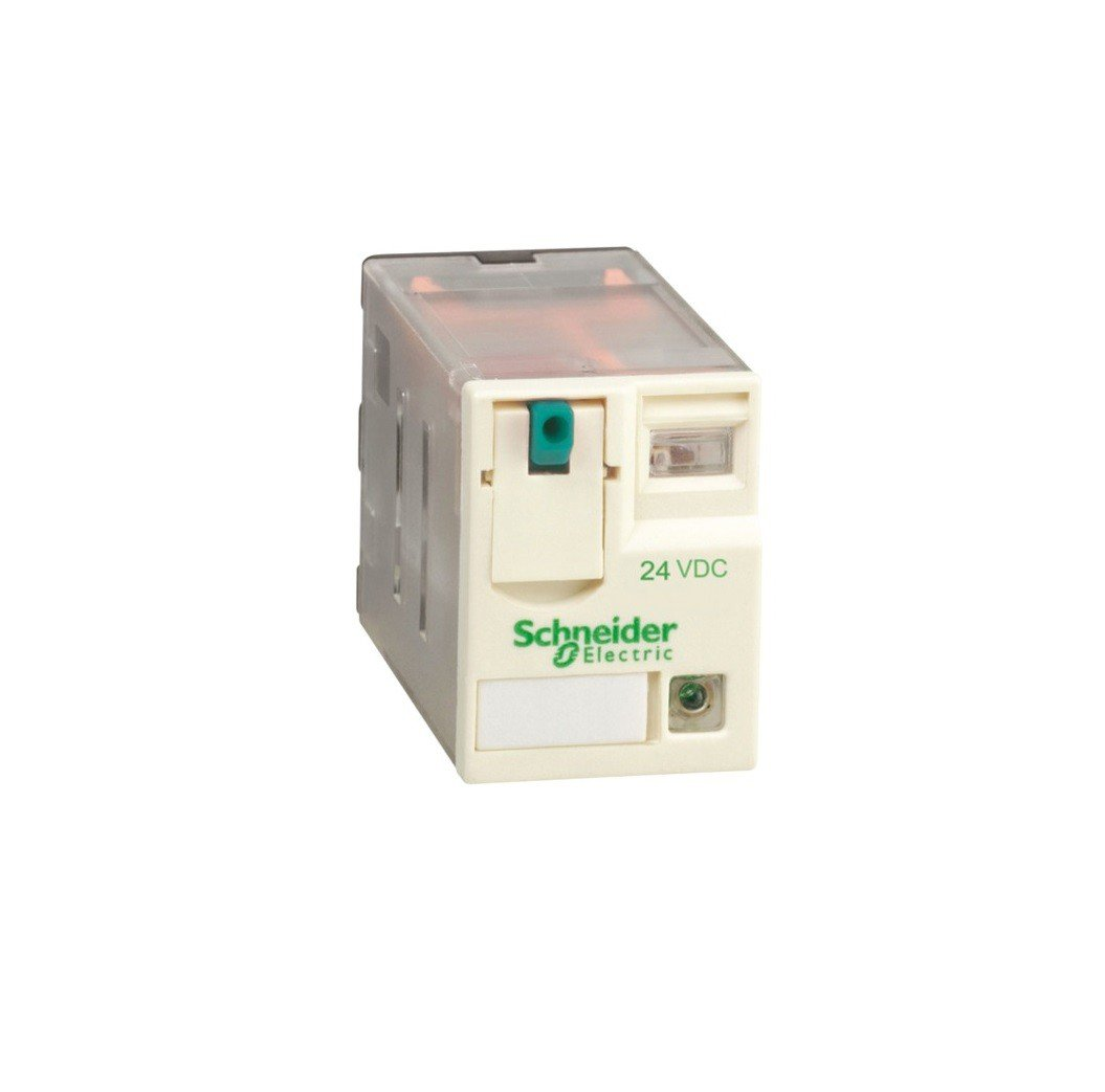Schneider Electric RXM4AB2BD Mini Relay+LED 4CO, 24V