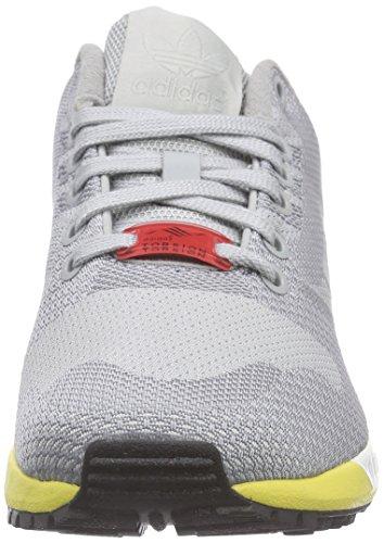 adidas ZX Flux Weave - Zapatillas para hombre Gris / Amarillo / Negro