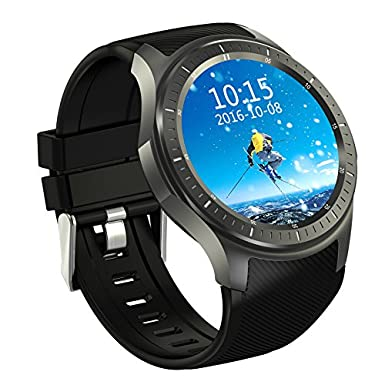 aicarey 2017 nueva Domino DM368 teléfono SmartWatch Android 5.1 3 G MTK6580 1,3 gHz Quad Core 8 GB ROM podómetro Monitor de ritmo cardíaco reloj ...