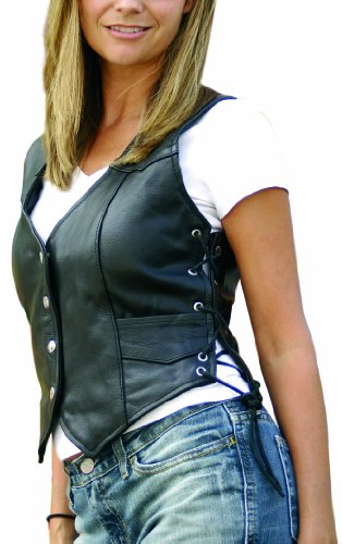 Women Leather Vest - 3