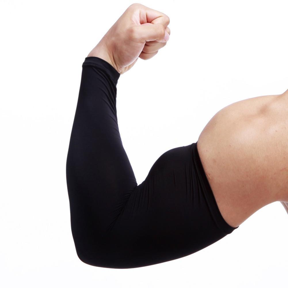 feccile ブラック s-ports & fit-nessアーム冷却スリーブSun UV & Protection forメンズレディースサイクリング運転ジョギングハイキング釣り、1pcs B07D9GGRG9 Protection ブラック Medium Medium ブラック, ミズナミシ:44f71b98 --- gamenavi.club