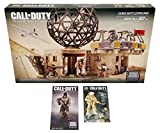 Mega Bloks Call of Duty Bundle - Dome Battleground (06818) & New York Comic Con (NYCC) Exclusive Gold Ghosts Astronaut & Ghosts Tactical Combat Mini Action Figure Set (1 of Each)