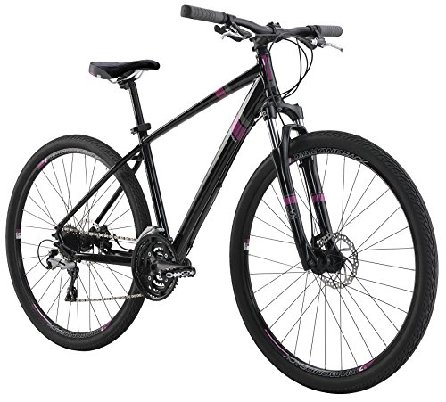 "Diamondback Bicycles 2016 Calico Sport Women's Specific Complete Dual Sport Bike, 18""/Medium, Black"