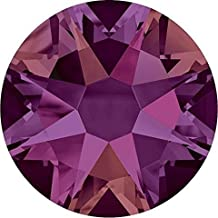 SWAROVSKI Crystal Flat Backs/Rhinestones SS20(4.7mm) CRYSTAL VOLCANO NON-NO HOTFIX Pack of 50 Crystals Genuine #2088 Xirius Rose