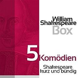 5 Komödien (Shakespeare kurz und bündig)