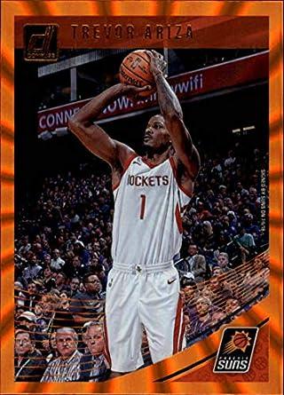sports shoes 5799d 2c07a Amazon.com: 2018-19 Donruss Holo Orange Laser Basketball ...