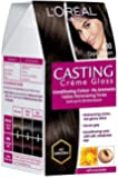 L'Oreal Paris Casting Creme Gloss, Dark Brown 400, 87.5G+72Ml With Ayur Product In Combo
