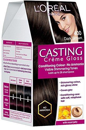 Buy L Oreal Paris Casting Creme Gloss Dark Brown 400 87 5g 72ml