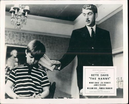 - THE NANNY BETTE DAVIS JAMES VILLIERS LOBBY CARD