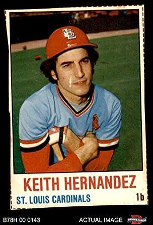 Amazoncom 1978 Hostess 22 Keith Hernandez St Louis