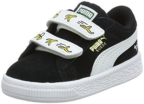 V Mixte Sneakers Suede Puma puma Black White Noir Minions Enfant Basses Inf puma 1wxUxZOqE