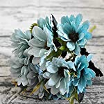 Bling-Bling-Case-10Heads1Bundle-Silk-Daisy-Bride-Bouquet-for-Christmas-Home-Wedding-Year-Decoration-Fake-Plants-Sunflower-Artificial-FlowersGray-Blue